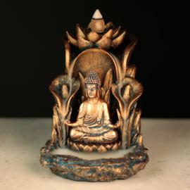 Wierook - Backflow - Boeddha - 14,2cm