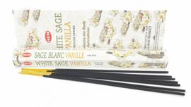 Wierook - Witte Salie met Vanille - Hem