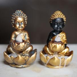 Wierookhouder - Backflow - Boeddha met Lotus