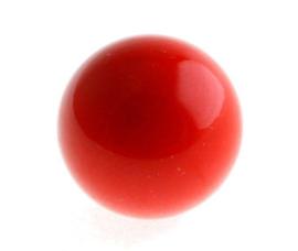 Klankbol rood 16 mm of 20 mm