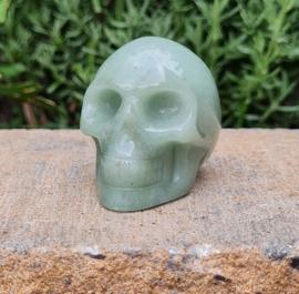 Aventurijn - Schedel / Skull - China - No.1