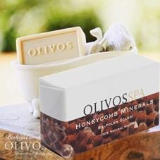 Olivos Spa - Honeycomb - minerals  - zeep - 250 gram