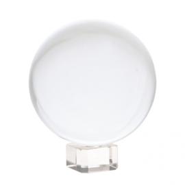 Kristallen bol - 5cm - met voetje glas