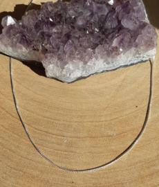 Ketting - Slang - 925 Sterling Zilver - 41 cm