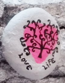 Happy Stone - Tree of life