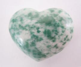 Hart - Jade gevlekt - 30mm