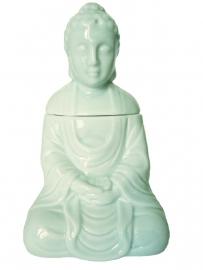 Aromabrander - Boeddha - Lichtblauw