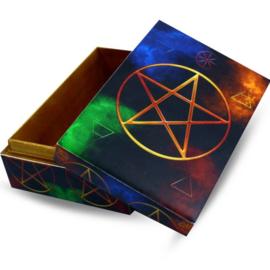 Doos - Pentagram - 15 cm