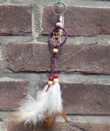 Dromenvanger - sleutelhanger - 3,5 cm - rond - in diverse kleuren