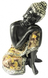 Thaise Boeddha - slapende Boeddha - 19 cm