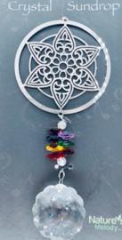 Raamhanger - Cosmo Lotus Spinner - met kristal