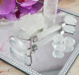Edelsteen - Massageroller - Bergkristal