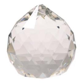 Raamhanger - Regenboog kristal Bol - AAA kwaliteit - 4 cm - transparant