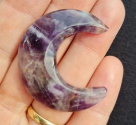 Amethist - 4cm - Maan - no.2