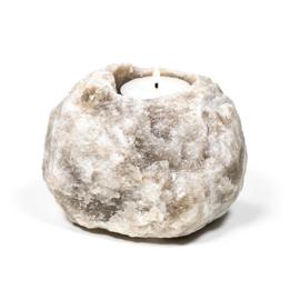 Sfeelicht - Zoutsteen - Grijs - 737 gram