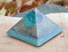 Orgonite Cheops Piramide - 6 cm - Positiviteit & Harmonie
