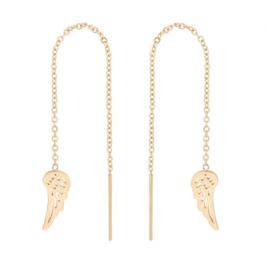 Oorbellen - Vleugels - RVS - Ketting - goudkleur