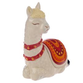 Sieraden doosje - Alpaca - 11 cm