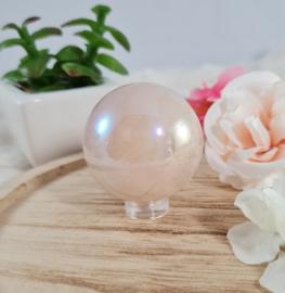 Rose Aura Kwarts - Bol - 3,5-4 cm
