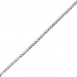 Ketting - Slang - 925 Sterling Zilver - 45 cm