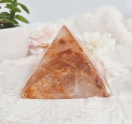 Golden Healer - Limoniet kwarts - Piramide - no.2 - 7cm