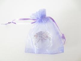 Organza cadeauzakje lila