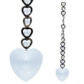 Kristallen Raamhanger - 15 harten - Feng Shui