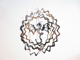 Windspinner - Draak - 13 cm