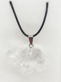 Ketting - Olifant - Bergkristal