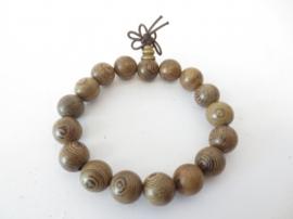 Armband - Mala - Sandelhout - 1,2 mm