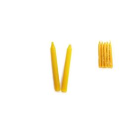 Ritueel kaars - Geel - 15 cm