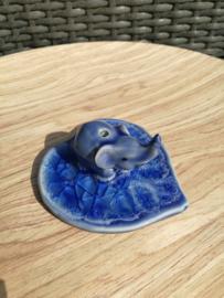 Wierookbrander olifant blauw
