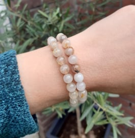 Armband - Rutielkwarts Goud - 0.8 cm