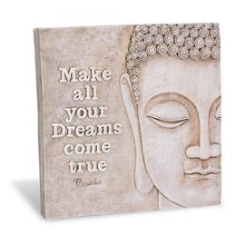 Decoratie tegel - Buddha Dreams - Home & Garden - 16,5 cm