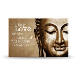 Magneet - Love - Boeddha - 8cm