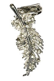 Earcuff - Feather - Strass