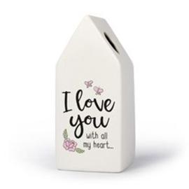 Huisvaasje - I Love you