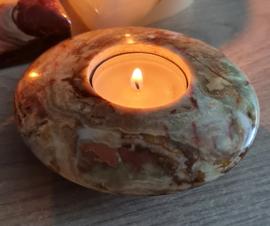 Onyx - Sfeerlicht - rond - 10 cm