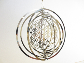 Spinner - Flower of life - Levensbloem - 18cm