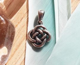 Hanger - Oneindige knoop - Zilver
