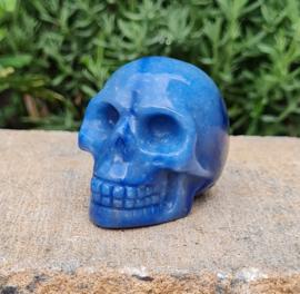 Blauwe Kwarts - Schedel / Skull - China - No.5