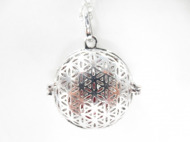 Engelenroeper Flower of Life - met rode klankbol