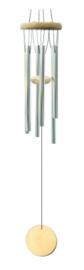 Windorgel - vijf staven en hout - 45 cm
