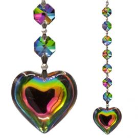 Kristallen Raamhanger - Aurora - hart - 20 cm