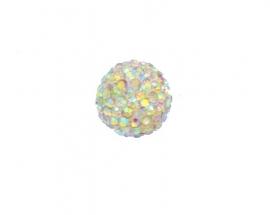 klankbol multicolor 16 mm strass steentjes