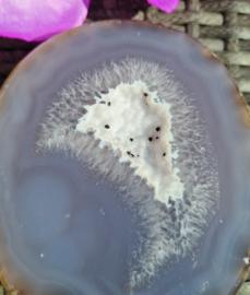 Agaat Geode op standaard - no.7