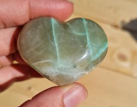 Groene Maansteen hart - no.8