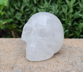 Bergkristal - Schedel / Skull - China - No.3