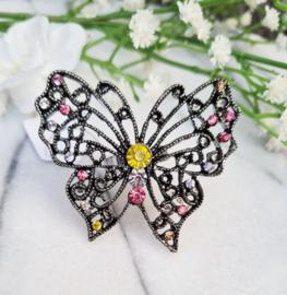 Ring - Grote Vlinder - 5,2 cm