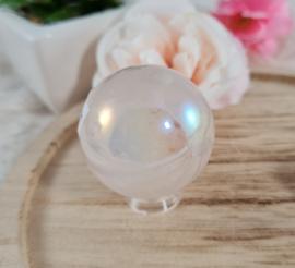 Rose Aura Kwarts - Bol - 3,5 cm